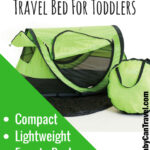 KidCo PeaPod Plus Travel Bed for Toddlers
