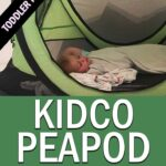 KidCo PeaPod Toddler Travel Bed