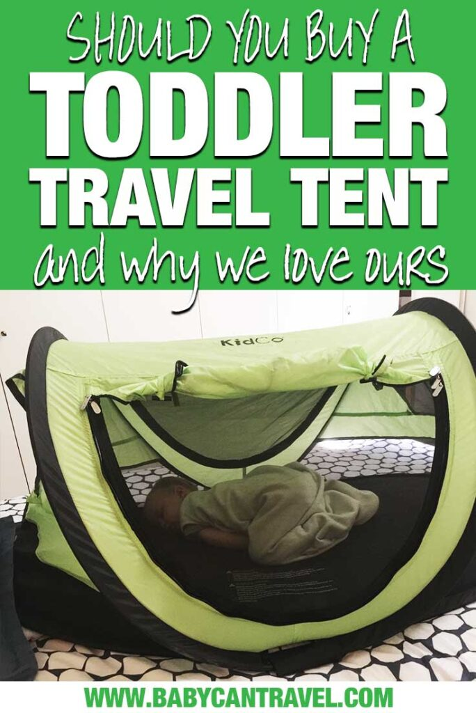 Best Toddler Travel Bed - KidCo PeaPod Travel Tent