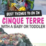 Best things to do in Cinque Terre with a baby or toddler