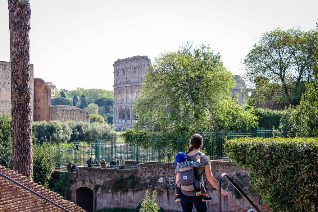 Visiting Rome with a baby and toddler