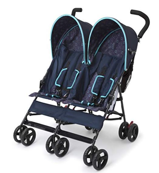 best double umbrella stroller for travel