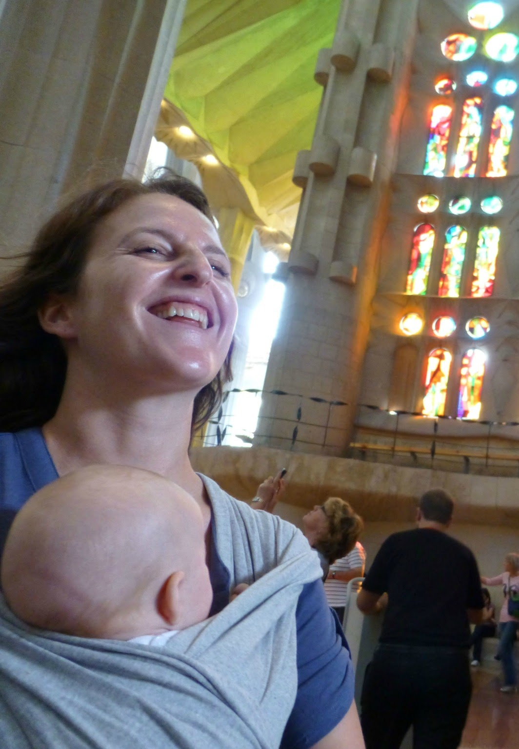6 Reasons Why You Should Take Your Baby to Barcelona - Sagrada Familia