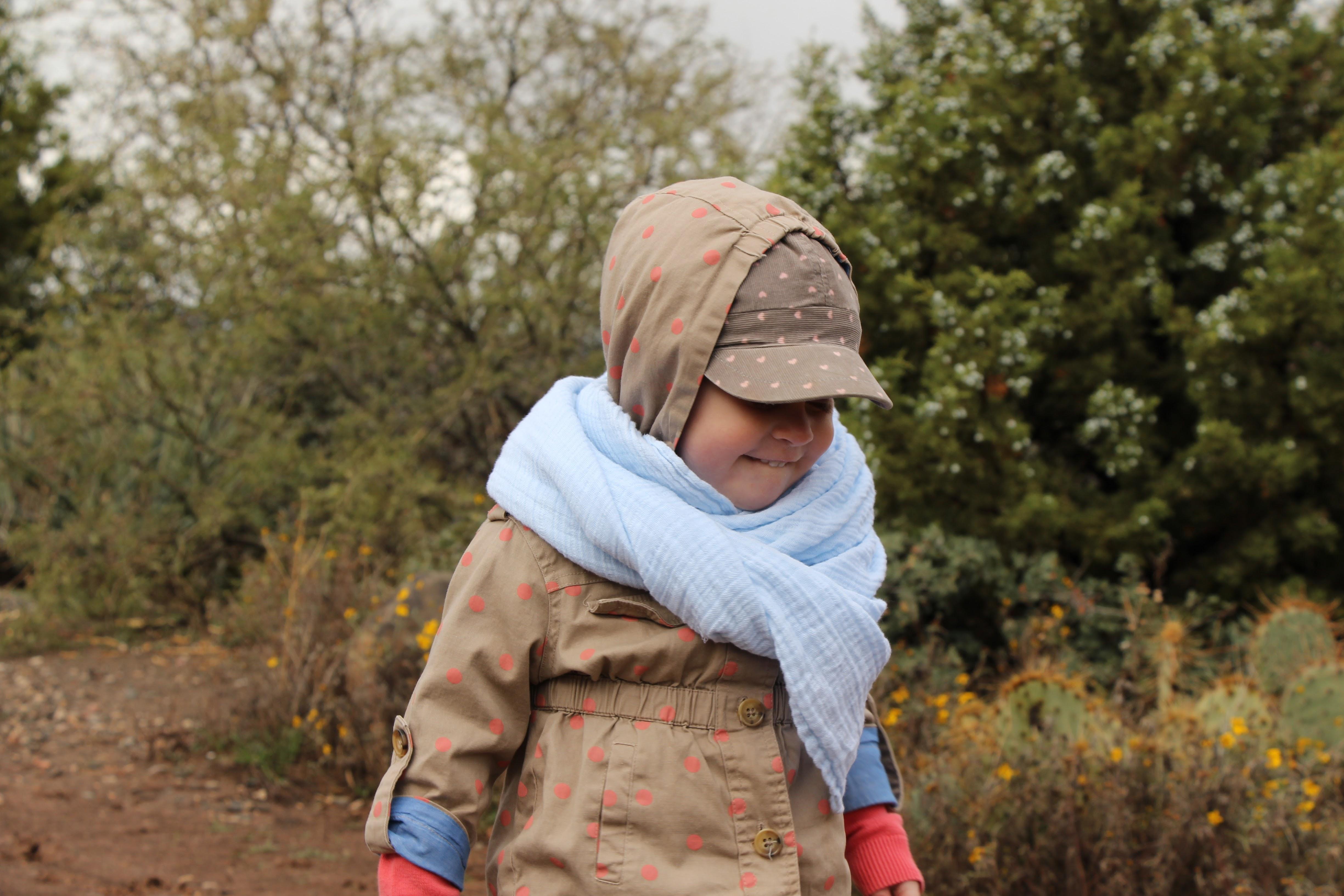 Aden & Anais blanket for toddler travel