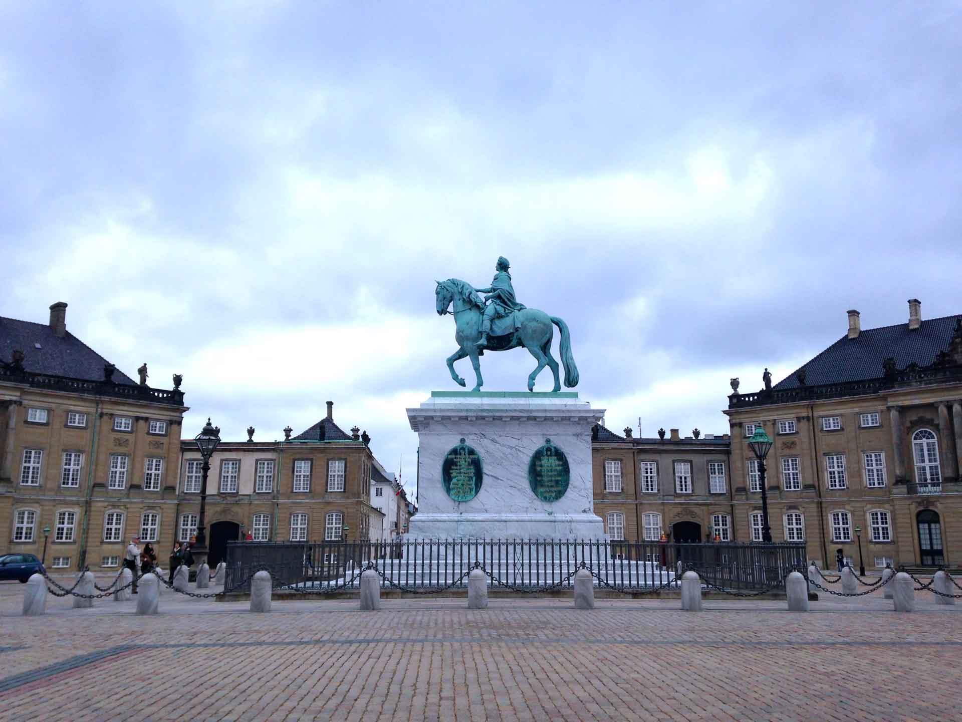 Amalienborg Palace Square Copenhagen