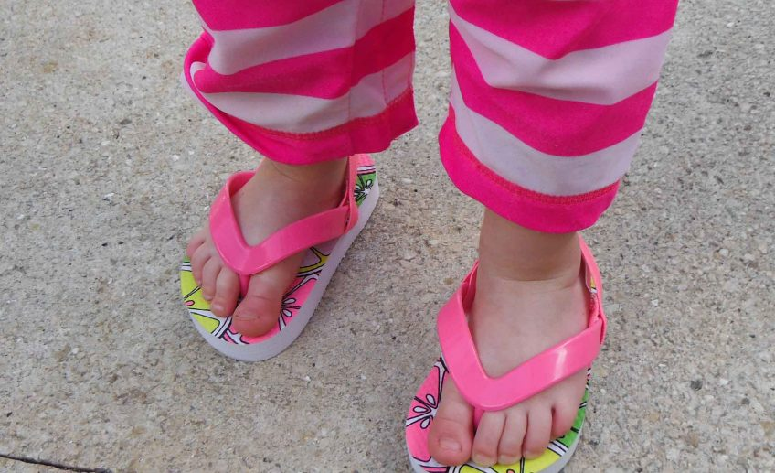 Baby Can Travel - A guide to an All-Inclusive with a Baby - Flip Flops