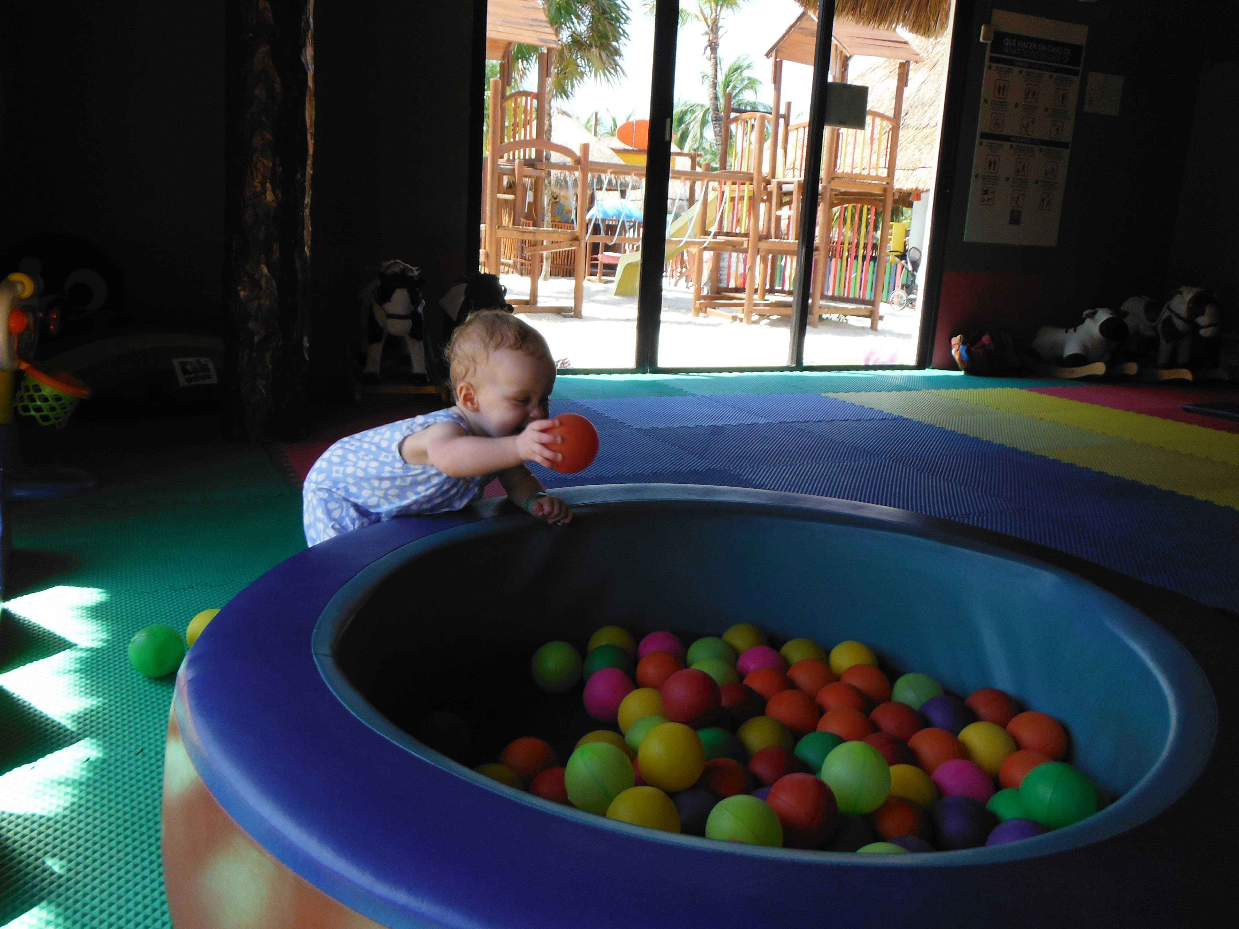 Baby Can Travel - A guide to an All-Inclusive with a Baby - Indoor Play Area