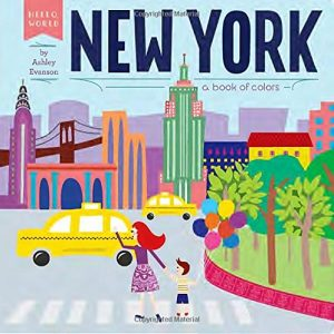Baby Can Travel - Books for Baby - New York - A Book of Colors