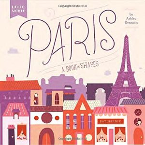 Baby Can Travel - Books for Baby - Paris - A book of Shapes