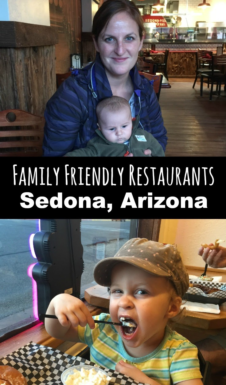 Sedona is the perfect place for a family vacation. Here are some restaurants in Sedona, AZ guaranteed to please your family. Read more at www.babycantravel.com/blog. #babytravel #toddlertravel #familytravel #sedona #arizona