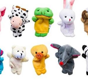 Baby Can Travel - Inflight Entertainment for Babies, Toddlers and Preschoolers - Finger Puppets