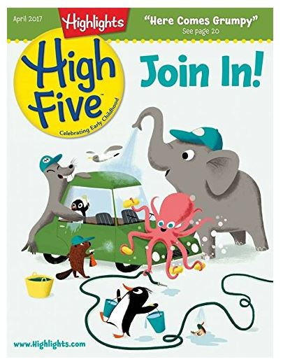 Baby Can Travel - Inflight Entertainment for Babies, Toddlers and Preschoolers - High Five Magazine