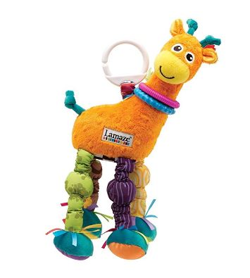 Lamaze toys make great travel toys for babies