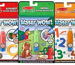 Baby Can Travel - Inflight Entertainment for Babies, Toddlers and Preschoolers - Melissa & Doug Water Wow
