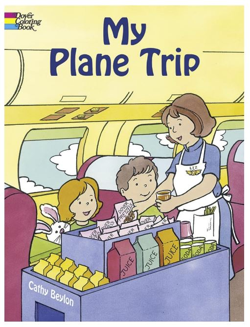 activities for flying with a baby toddler or preschooler