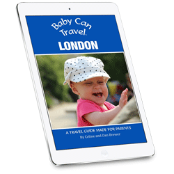 Baby Can Travel London Ebook Guide