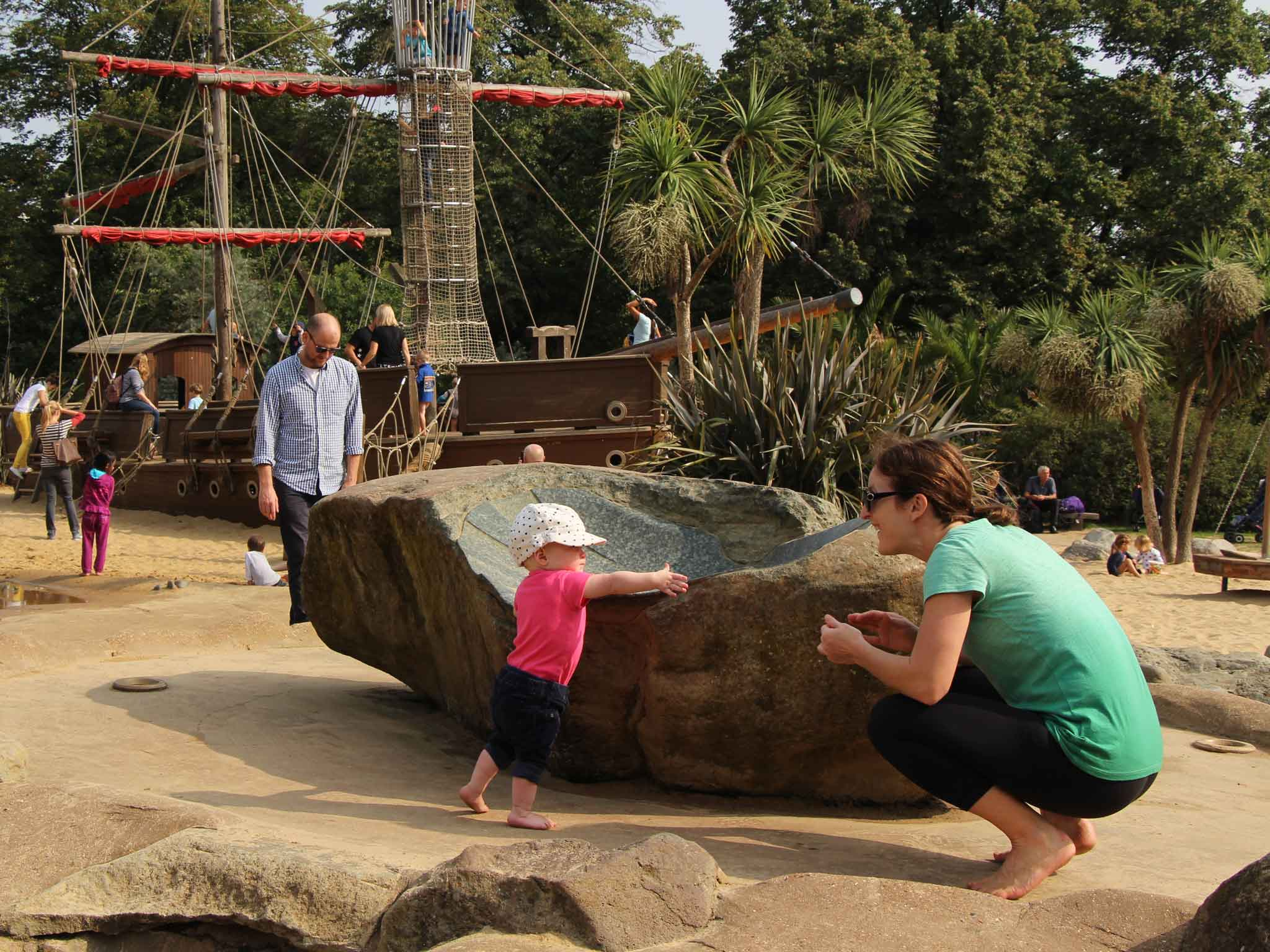 Baby Can Travel - London Playgrounds and Parks for Babies or Toddlers - Diana Memorial Playground