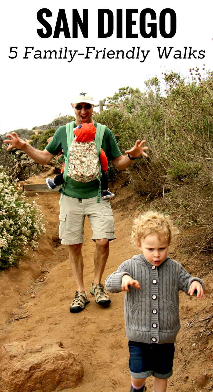 San Diego Family Friendly Walks | Family Travel | Travel with baby, infant, toddler | Traveling with baby | Family Travel | San Diego with a baby | California Family Vacation | Torrey Pines Hiking | Balboa Park | San Diego Zoo | Mission Beach|