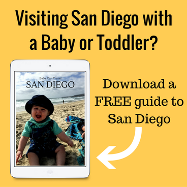 Free Downloadable San Diego with a Baby Guide