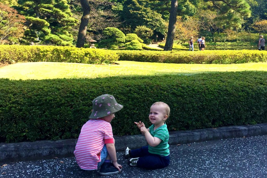 Baby-Can-Travel---Tokyo-Japan-With-Kids---Imperial-Palace-Gardens-Tokyo-Japan
