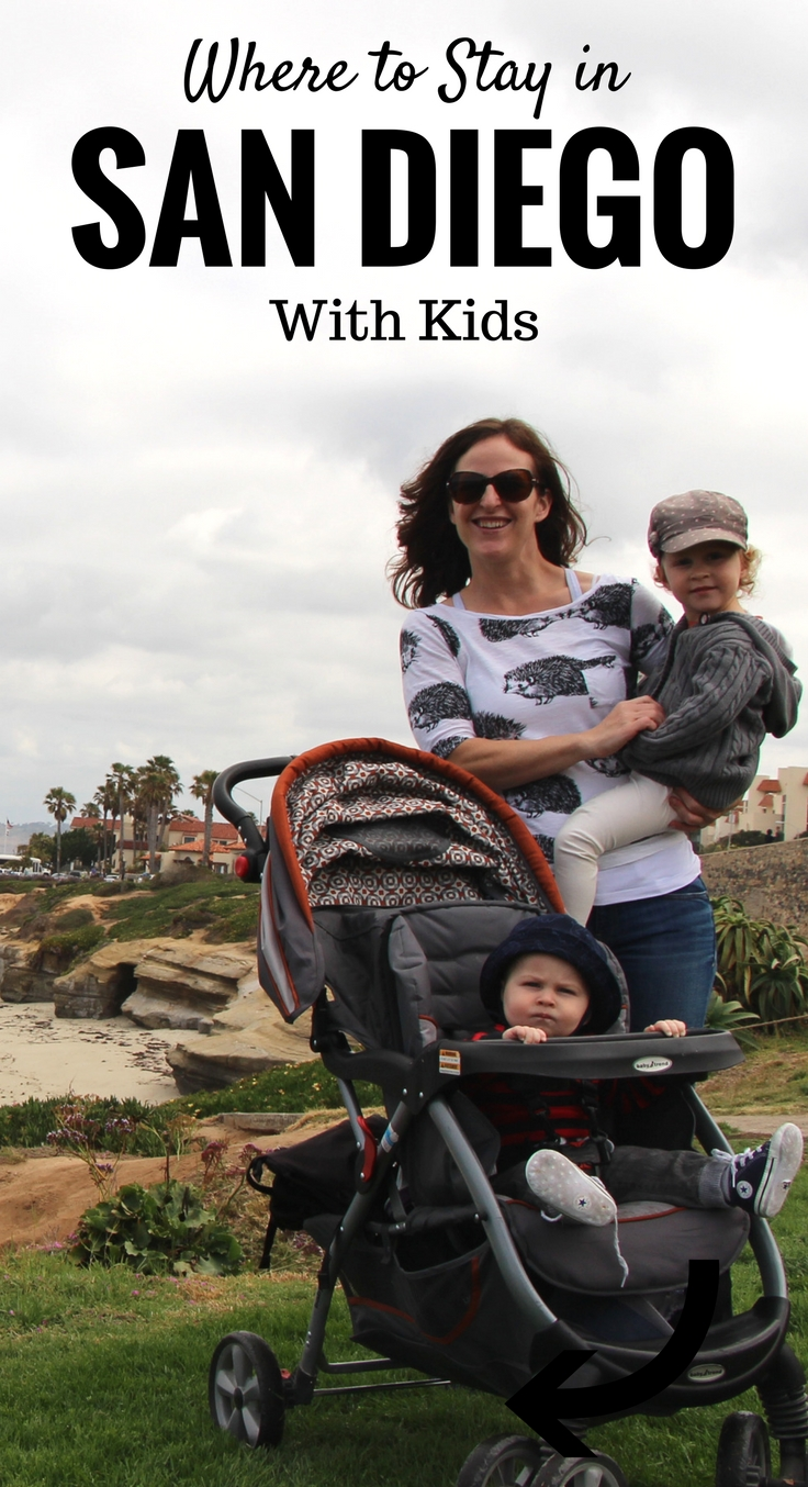 Where to stay in San Diego with kids? Mission Beach is a great spot! Find out why at www.BabyCanTravel.com/blog #babytravel #familytravel #toddlertravel #sandiego #california