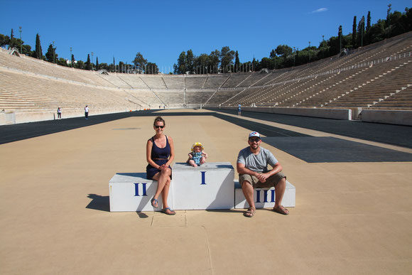Baby Can Travel - panathenaic-stadium-athens-greece-with-baby