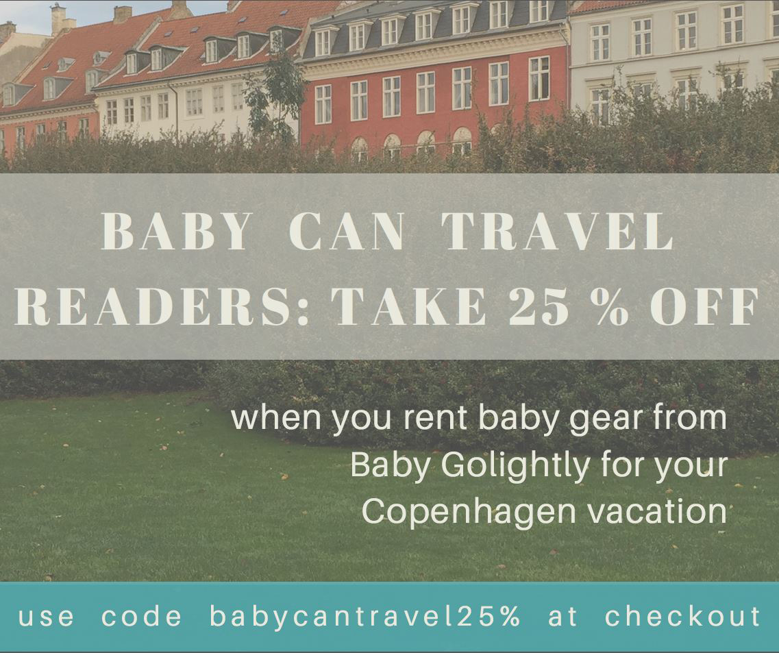 Rent baby gear in Copenhagen
