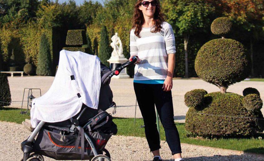 using blanket as baby strollers covers