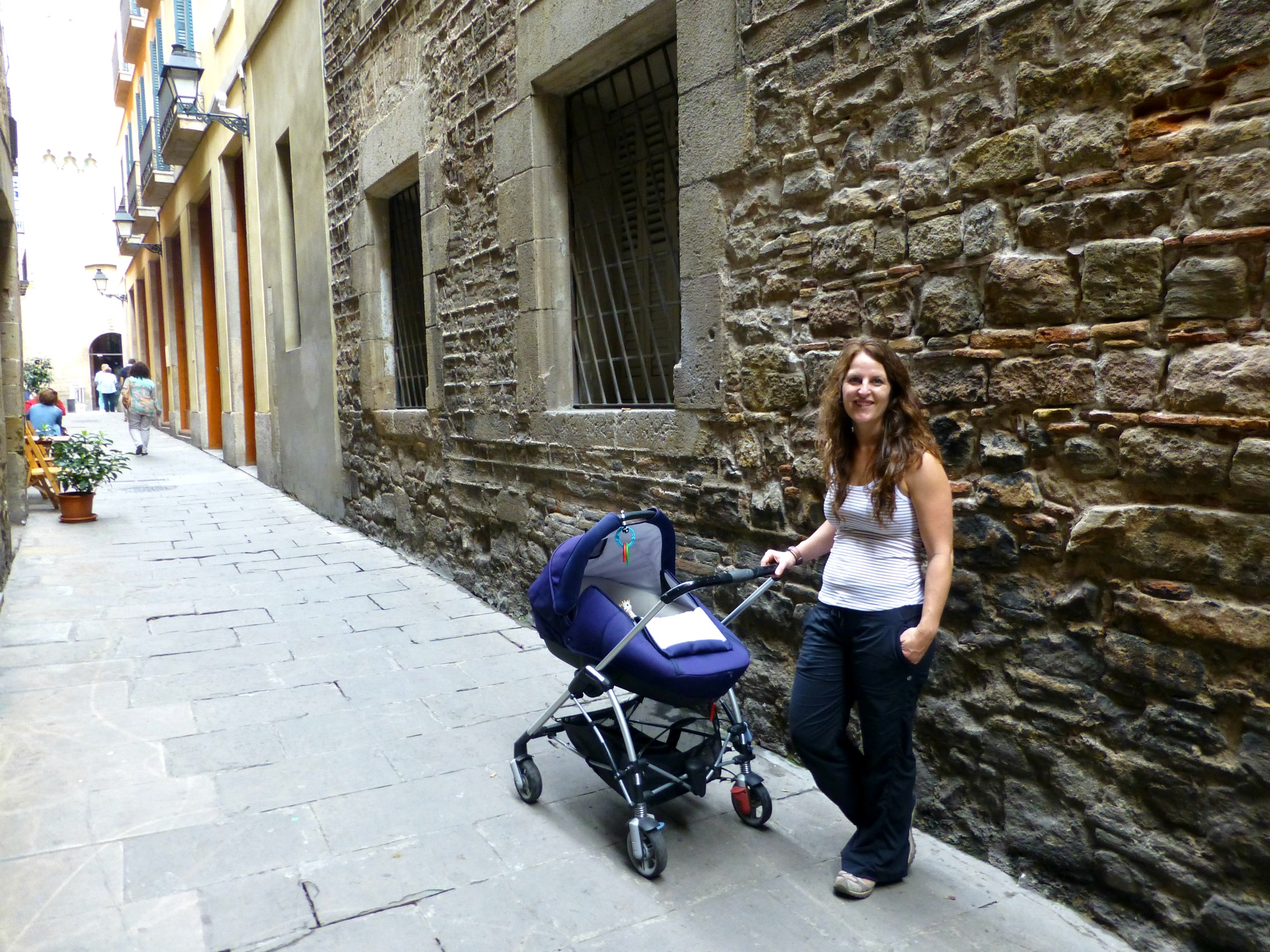 Using a stroller in Barcelona