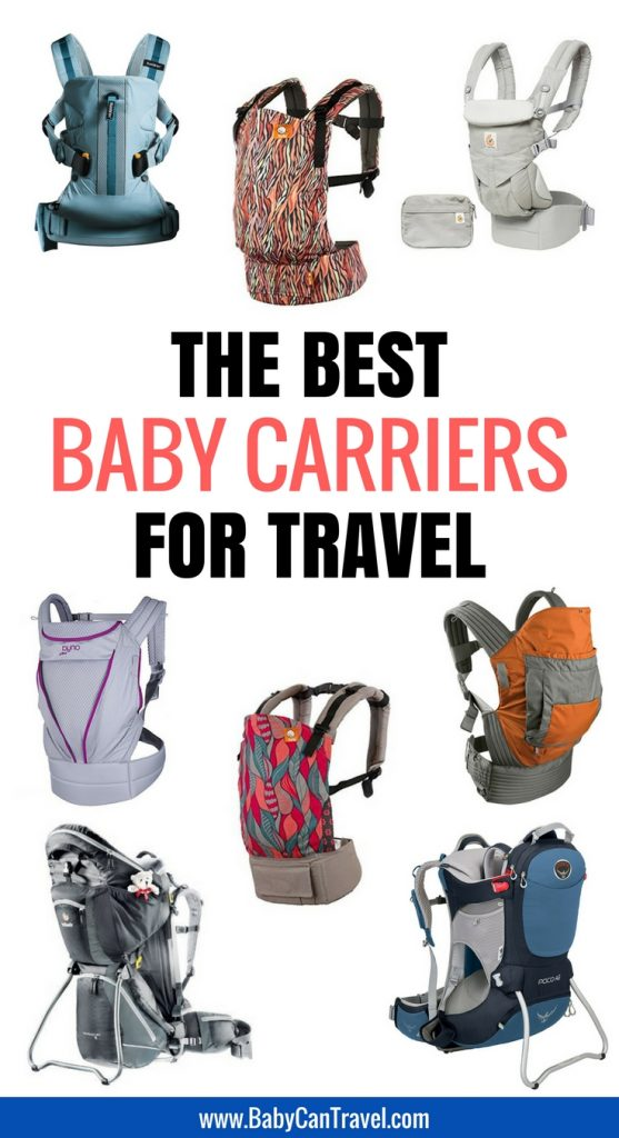 Looking for a baby carrier? With our detailed comparison chart, you'll find the best baby carrier for travel with your! | Baby Carrier | Travel with baby | Toddler Travel | Baby Gear #babycarrier #toddler #babygear #baby