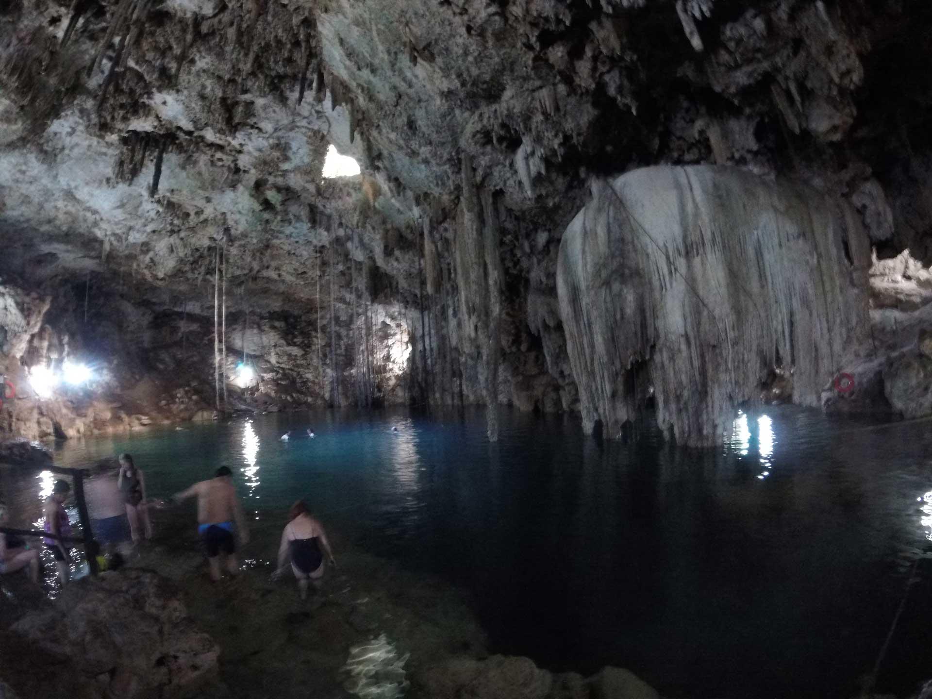 Cenote Xkeken near Chichen Itza