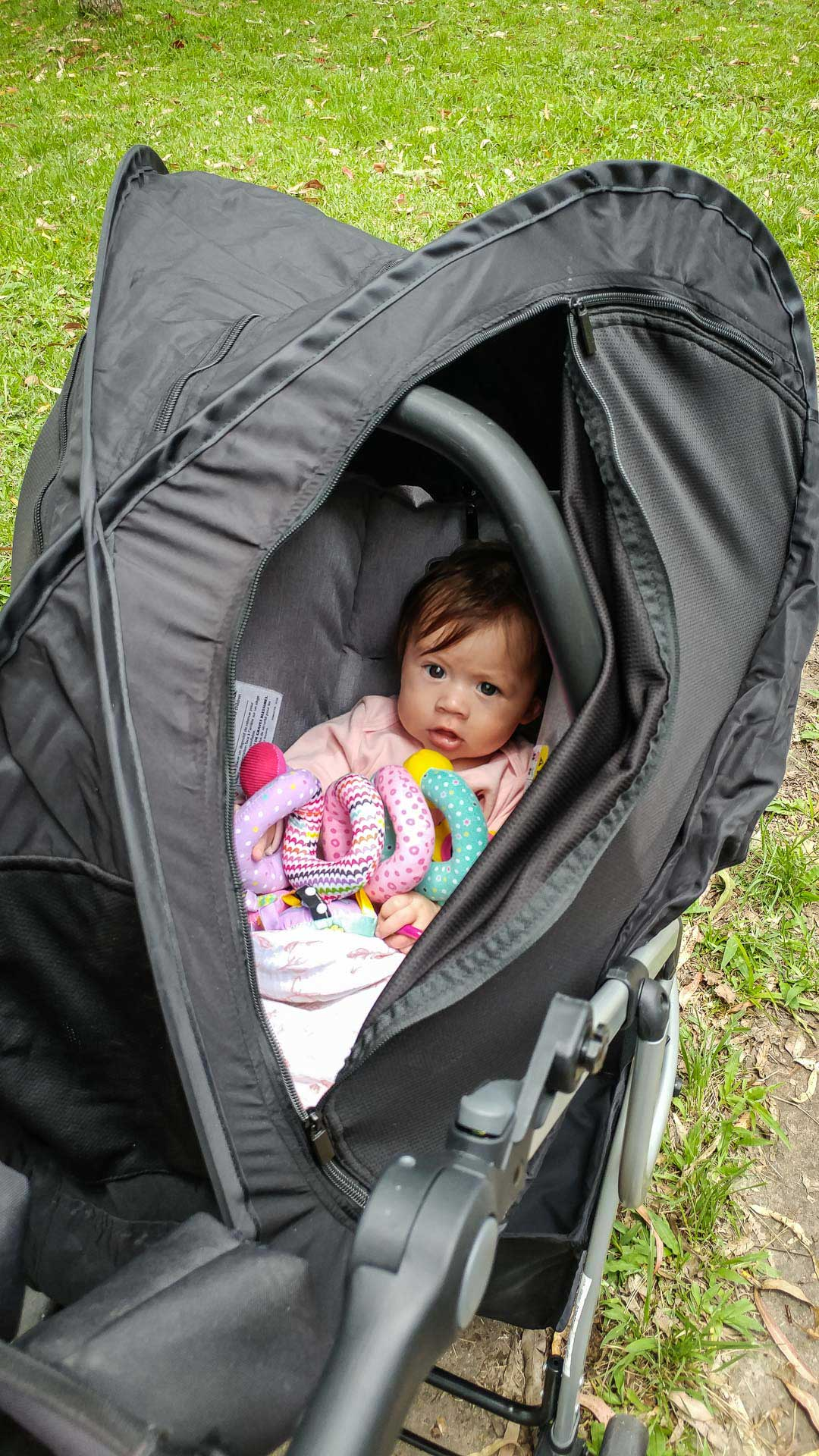 CoziGo Stroller Cover for Travel with Baby