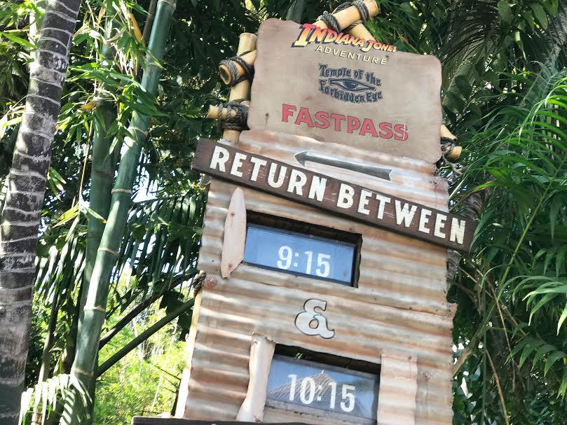 Fast pass and baby swap pass at Disneyland