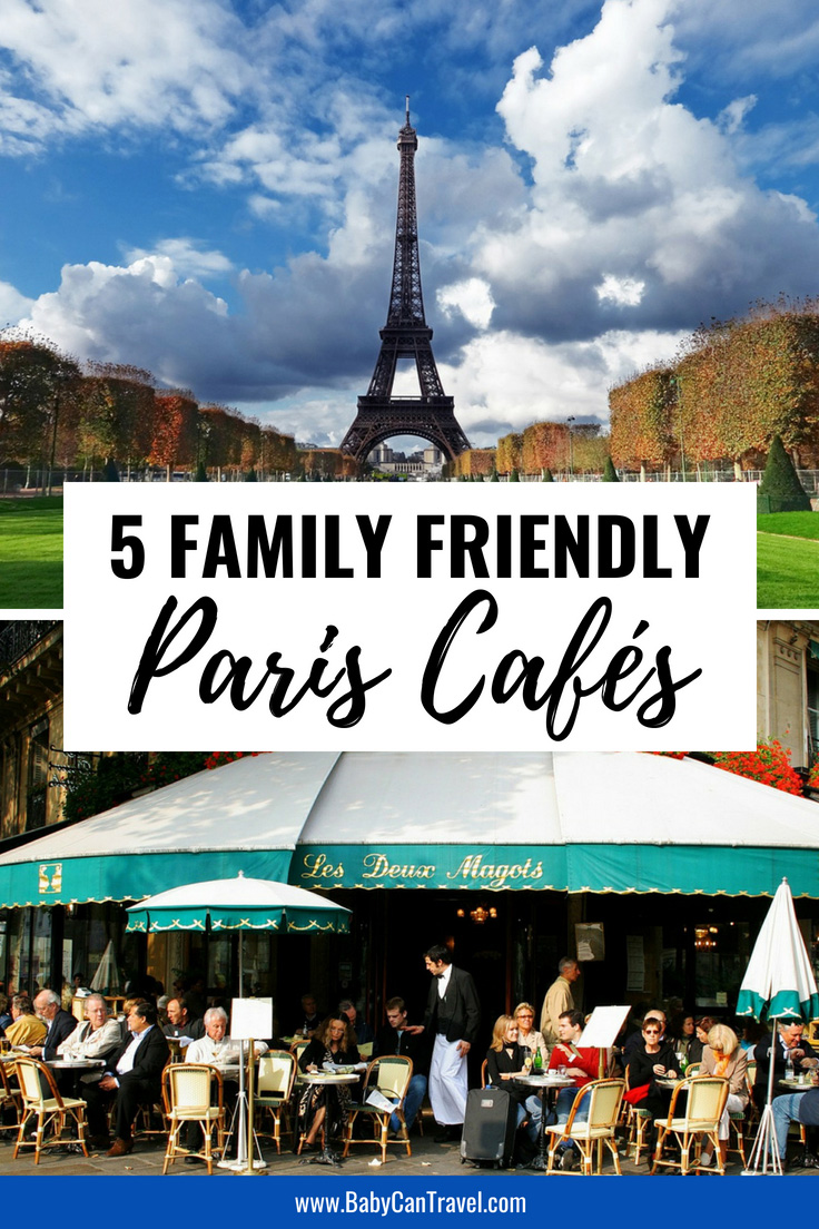 If you are wondering which cafes in Paris you should visit with your baby or toddler? Here are top 5 family friendly cafes in Paris recommended by a local. Paris can be kid friendly if you know where to go! #paris #france #travelwithbaby #baby #toddler
