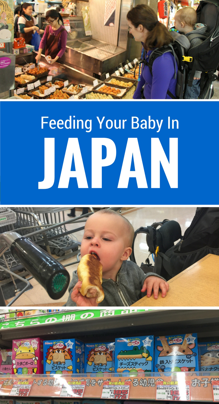 Travelling to Japan With a Baby or Toddler? If your baby is on solid food, here are our suggestions for finding baby-friendly food in Japan. #japan #tokyo #kyoto #babytravel #travelwithbaby #baby #toddlertravel #familytravel