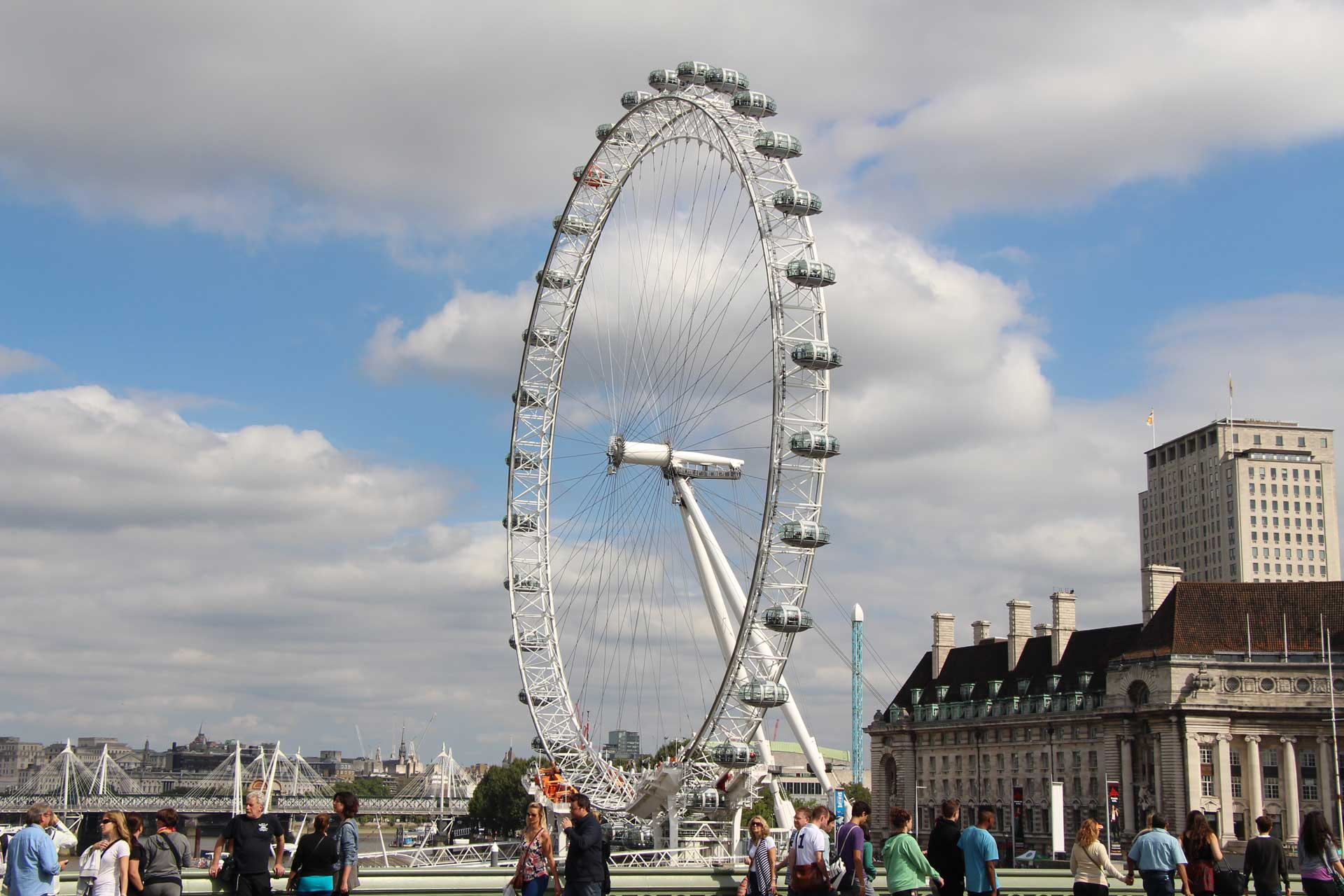 London Eye with a baby or toddler