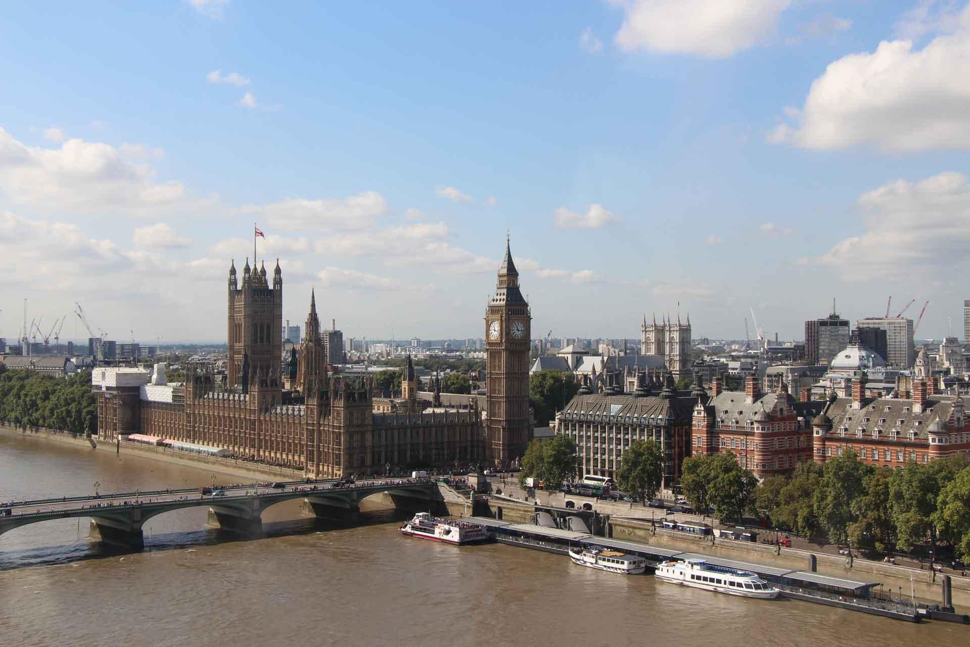 View of Big Ben London