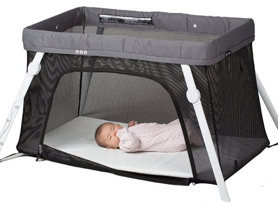 lotus travel crib for baby