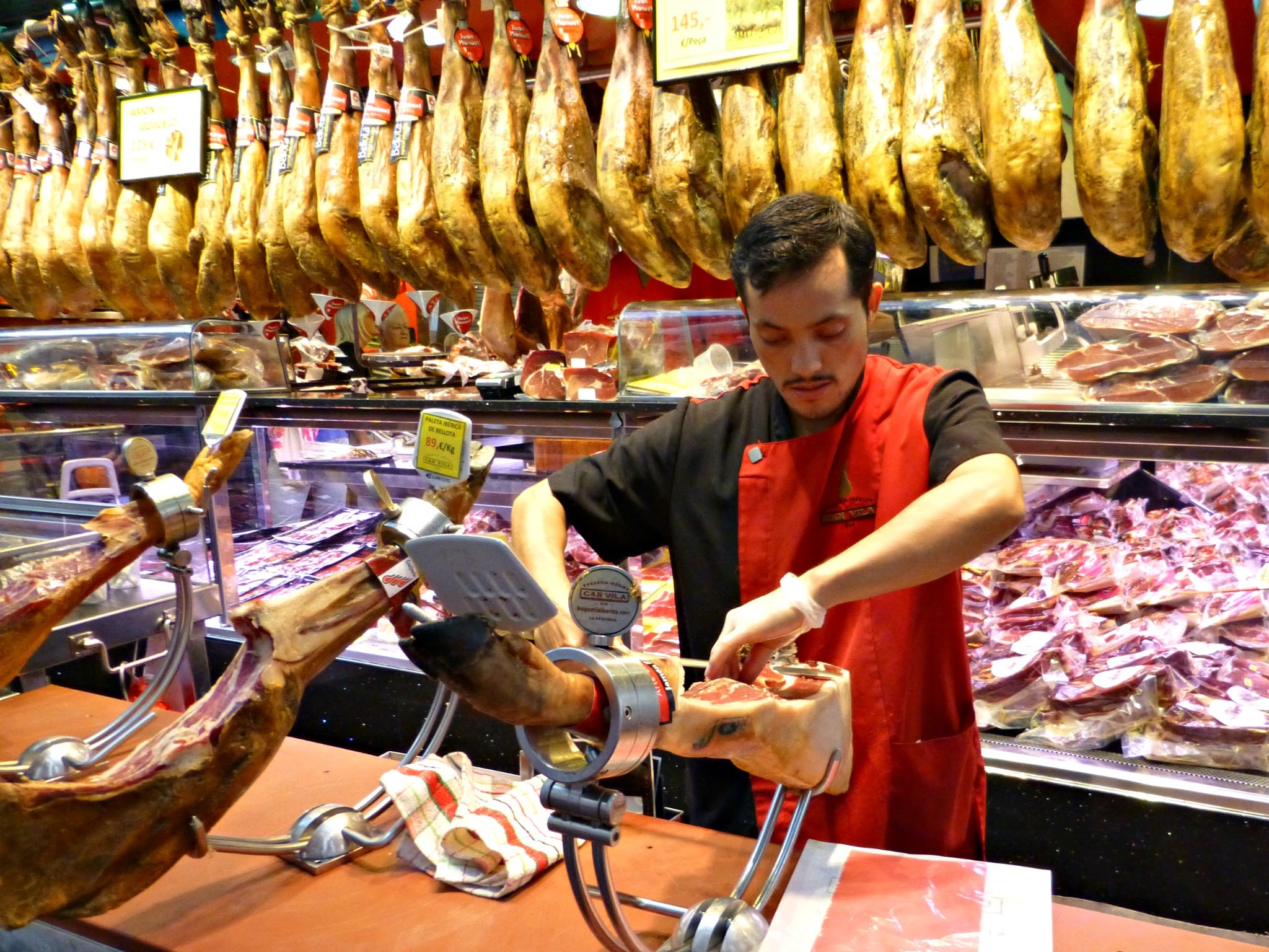 Mercat de Boqueria Barcelona
