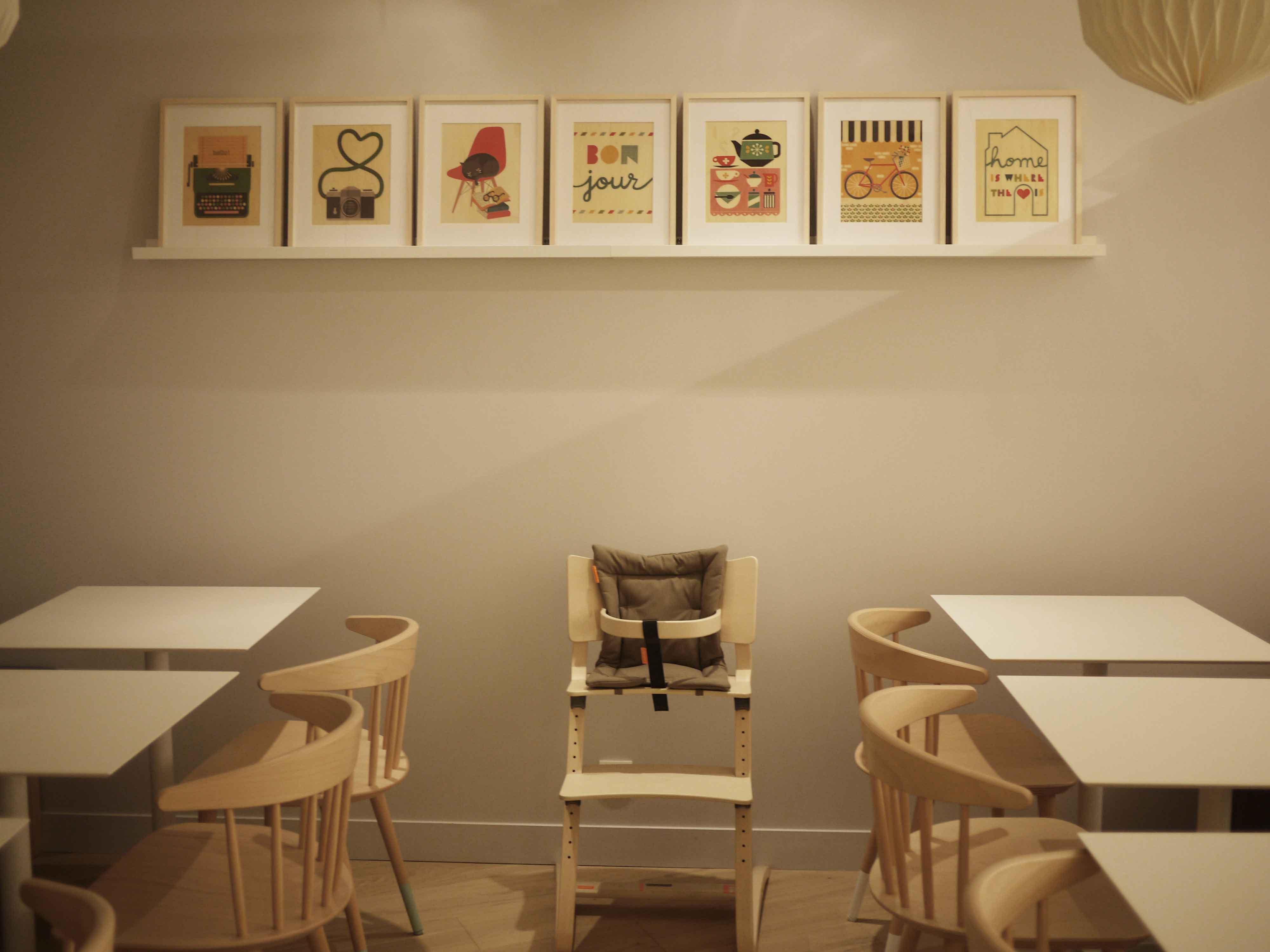 Mombini Cafe in Paris