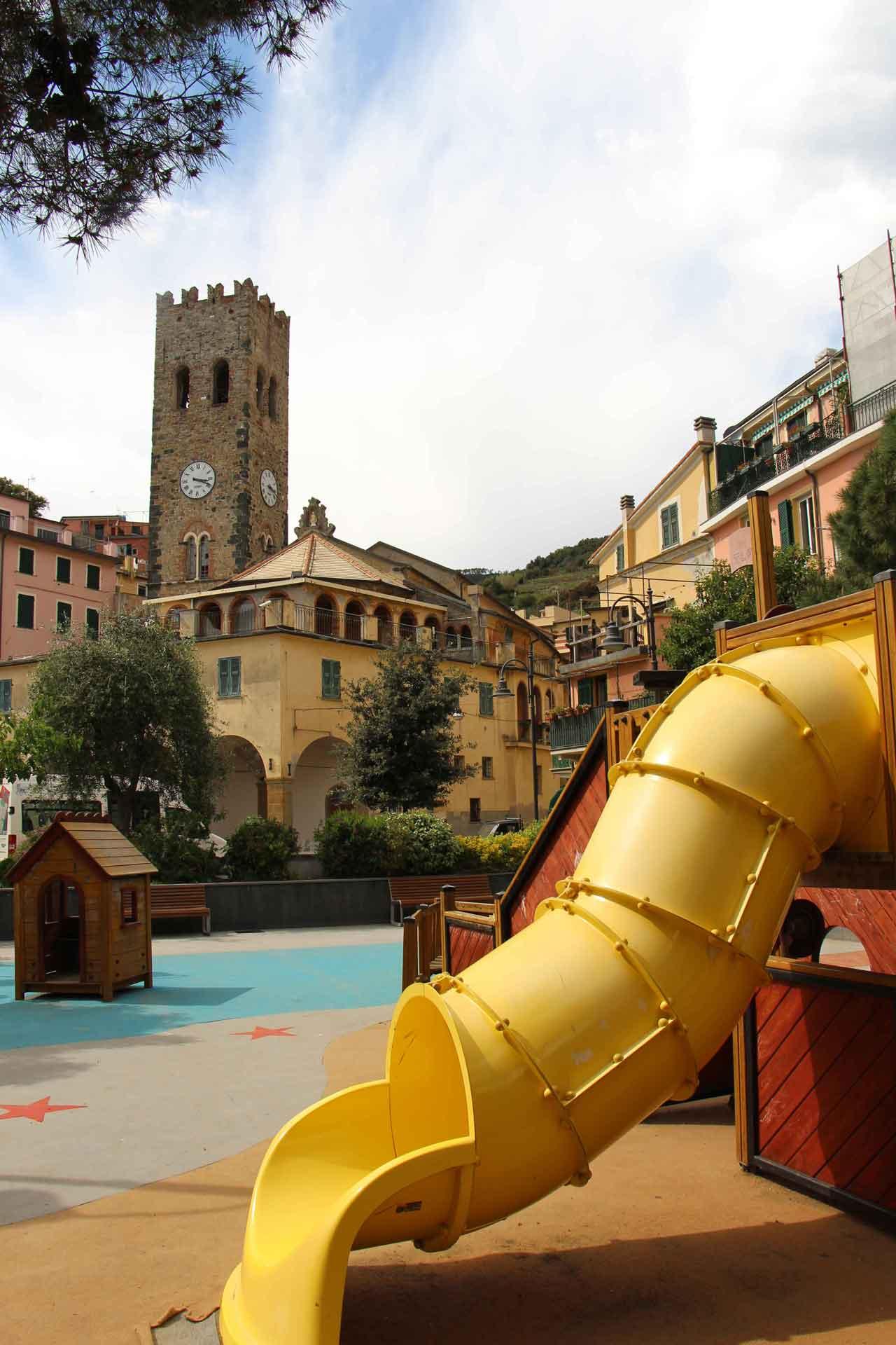 Monterosso Cinque Terre Italy Playground