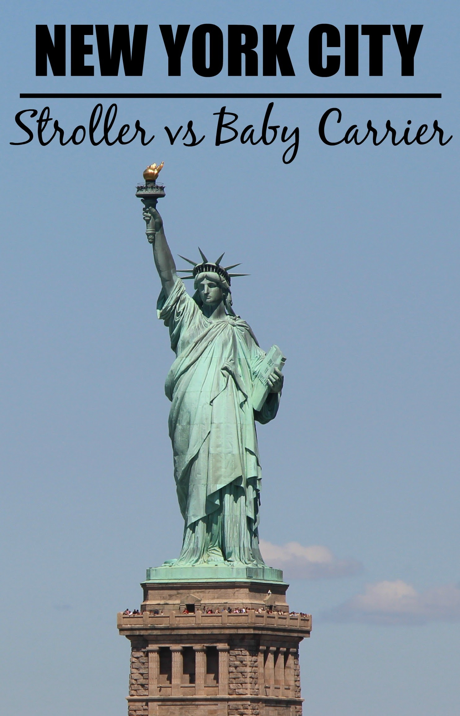 Travelling to NYC? Next in our series of Stroller vs Baby Carrier, we give our recommendations for the top 5 attractions in NYC. #travelwithbaby #nycwithbaby #babytravel #toddlertravel #traveltips #travelstroller #babycarrier #babywearing