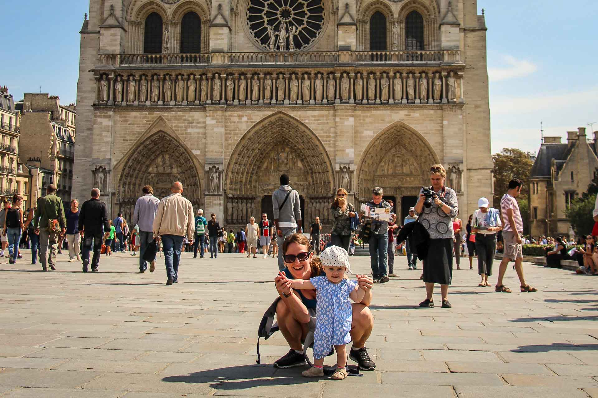 Taking a toddler to Paris
