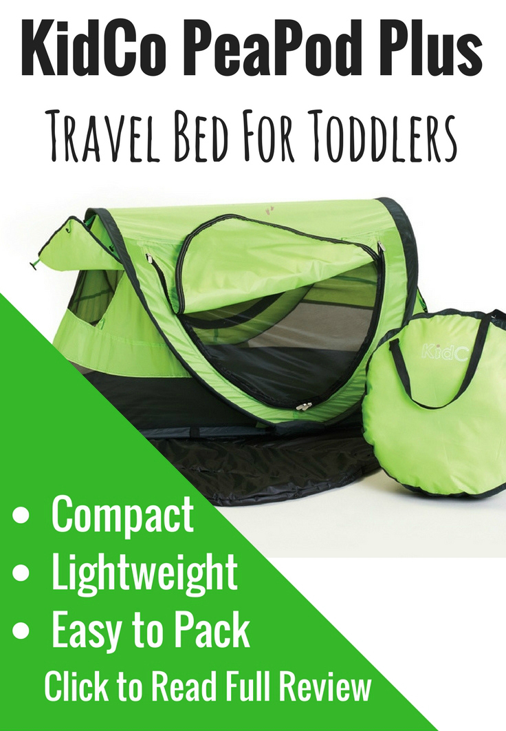 Looking for a lightweight and portable travel crib for your toddler? The PeaPod Plus tent is the only travel crib you'll need. #babytravel #travelwithbaby #travelcrib #travelcot #babytent #beachtent #babygear #babytravelgear #toddlertravel