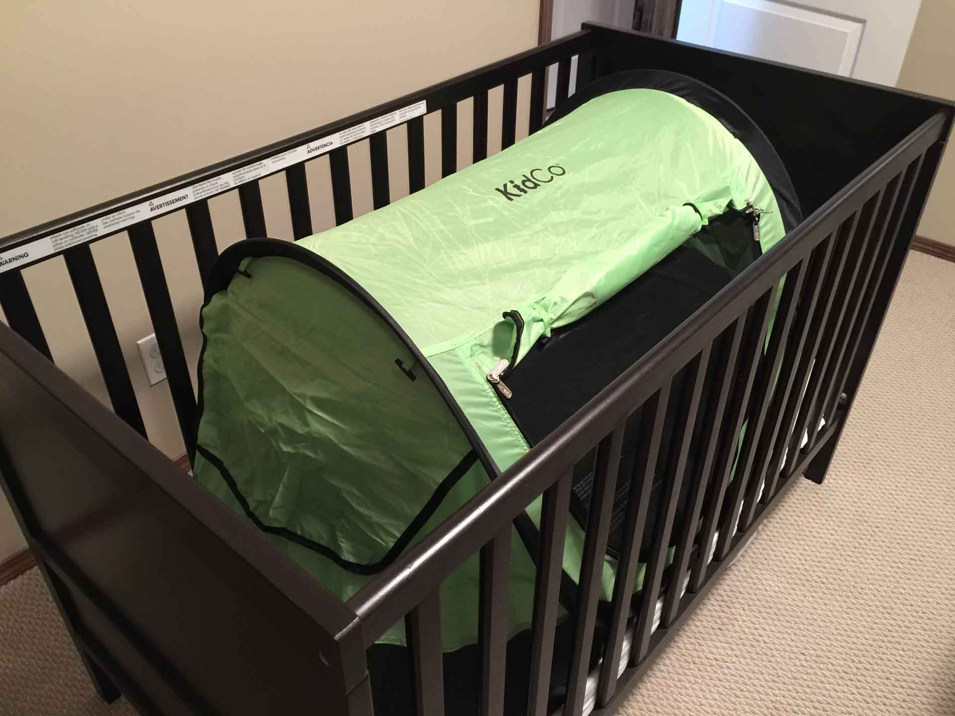 Getting toddler used to sleeping in KidCo PeaPod Plus Travel Tent