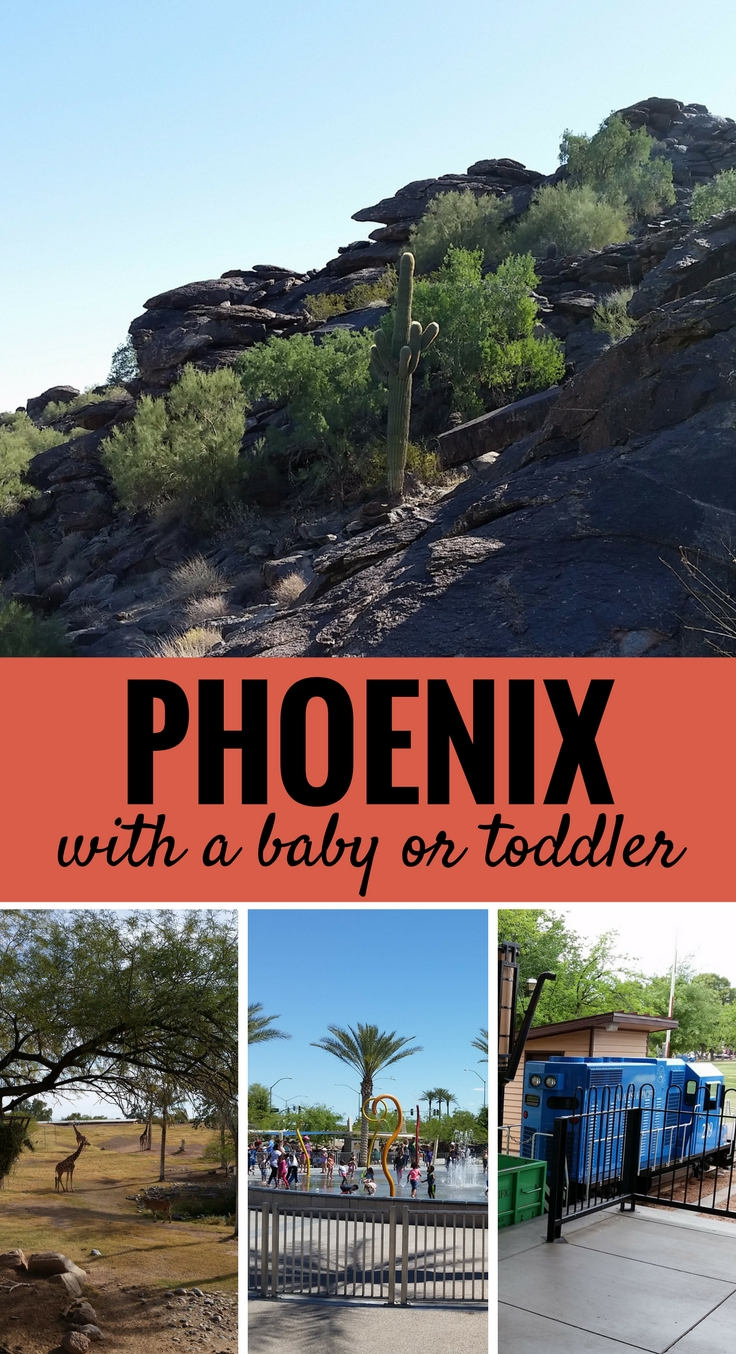 Travelling to Phoenix, Arizona With a Baby or Toddler? Here are 5 baby and toddler friendly activities the entire family will enjoy! #phoenix #travelwithbaby #babytravel #arizona #toddlertravel
