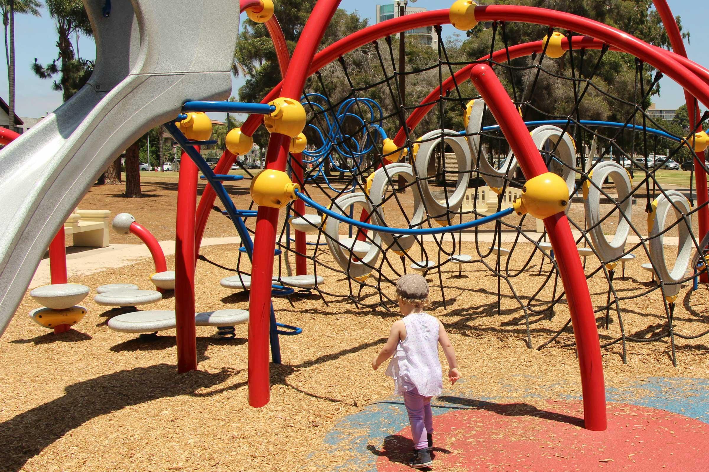 Playground in Balboa Park San Diego