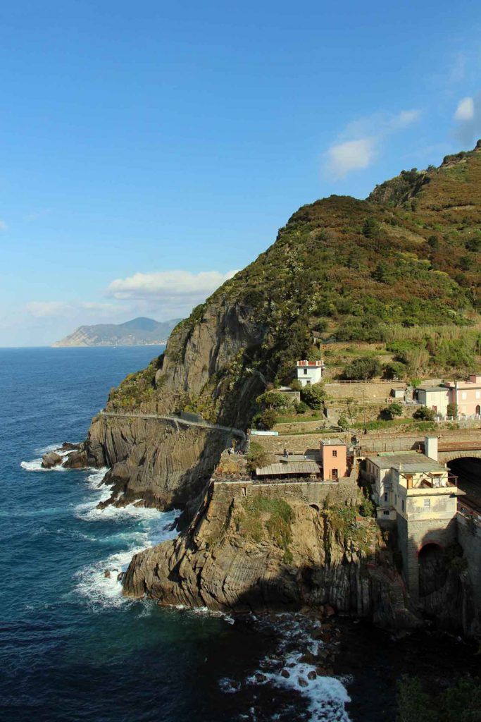The Via dell'Amore (the Way of Love) is a romantic walk from Riomaggiore to Manarola