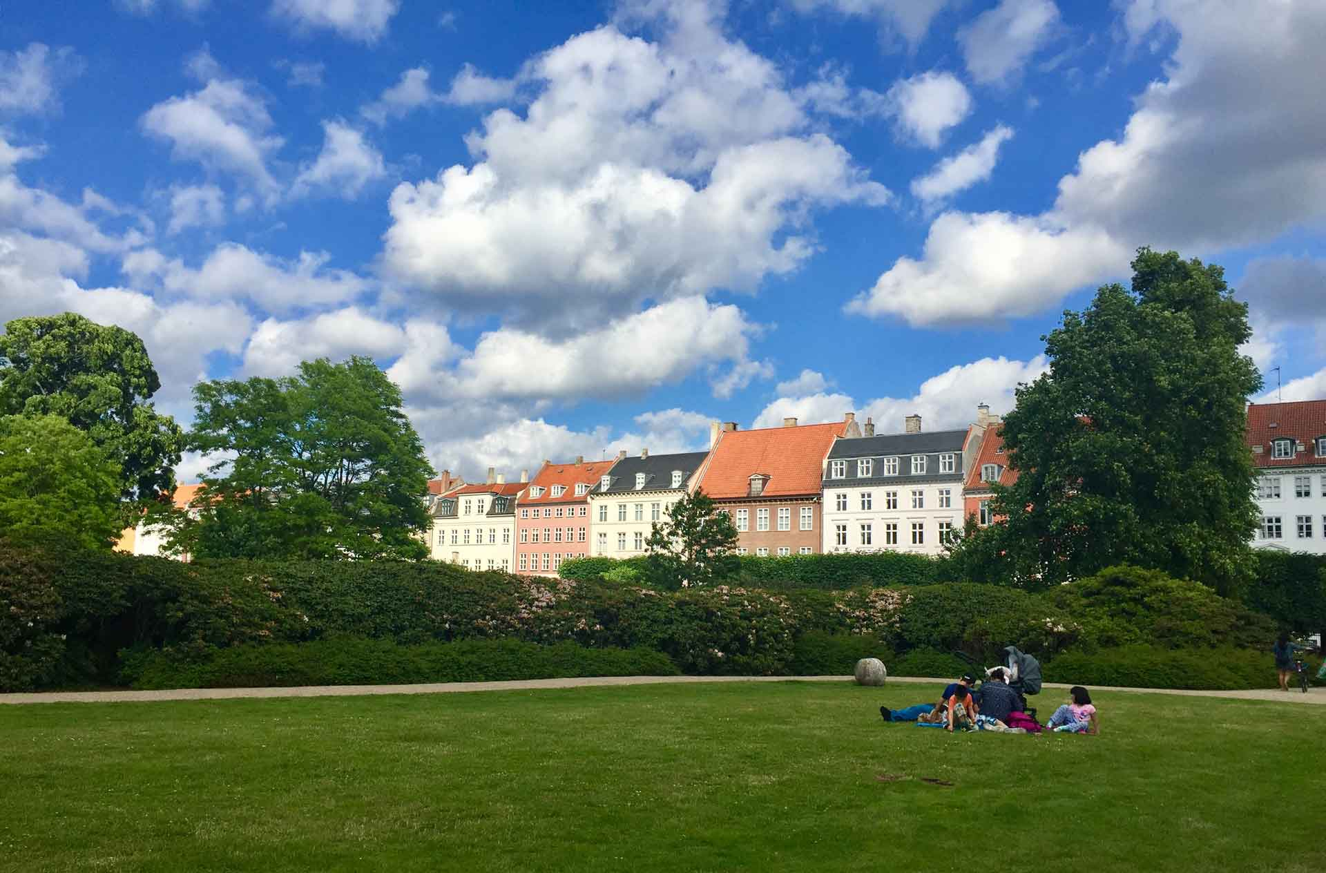 Rosenborg Castle Copenhagen with kids