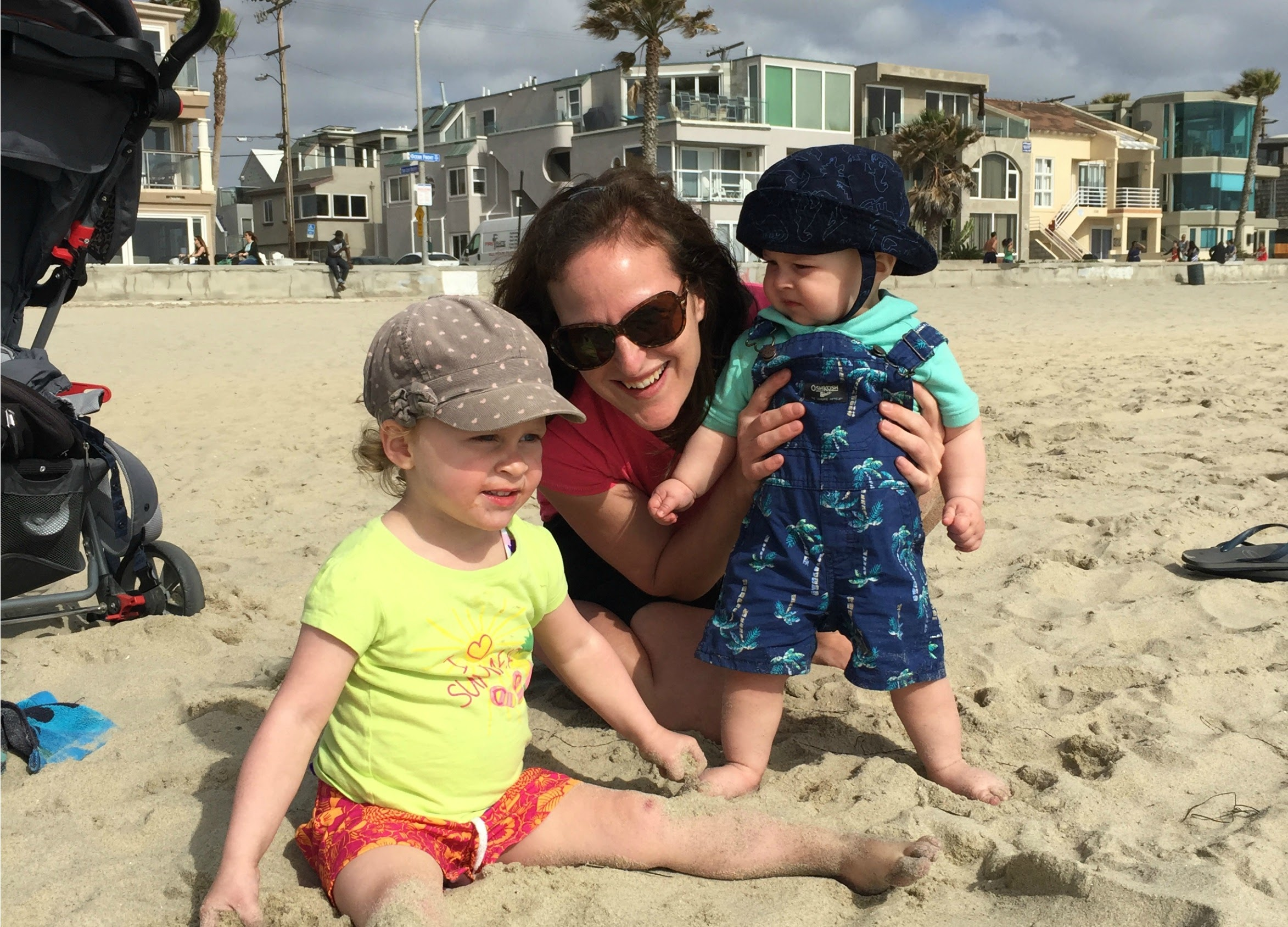 San Diego With a Baby and Toddler Beach
